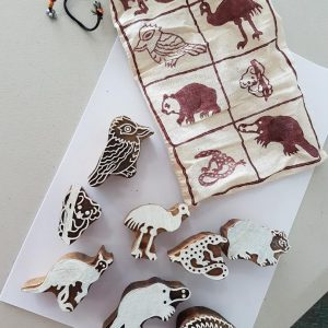 Australian animal print blocks